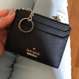 Brand New Kate Spade Card Holder with Keyring